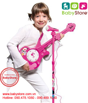 Đàn ghita có micro Barbie Electric Guitar & Microphone